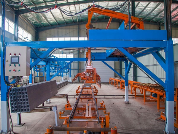 New Full-Automatic concrete wall panel machine system